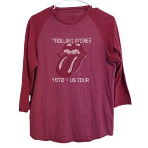 VINTAGE STYLE ROLLING STONES GRAPHIC T-SHIRT